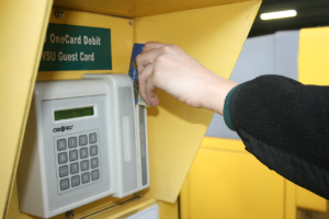 One card payment box